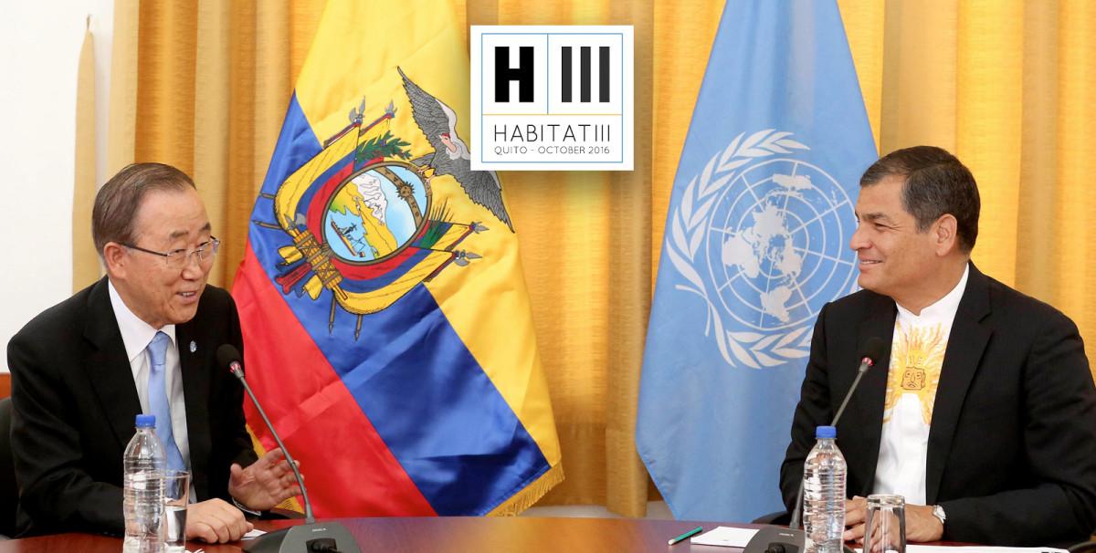 Discurso del Presidente Rafael Correa en la Inauguración de HÁBITAT III