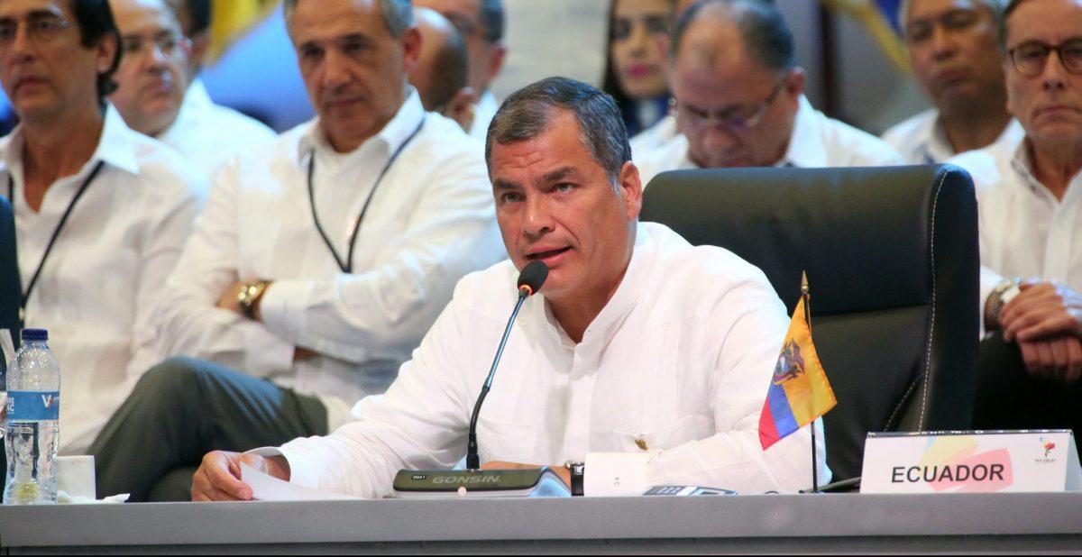 Discurso del Presidente Rafael Correa en la V Cumbre de CELAC, República Dominicana 25/01/17