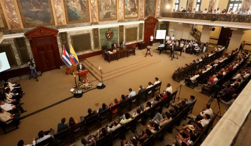 Conferencia Magistral de la Universidad de la Habana, Cuba