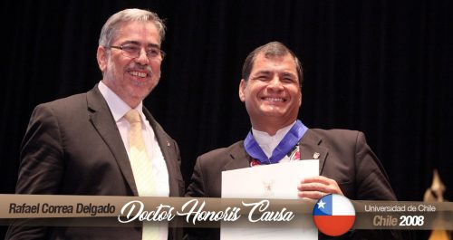 Doctorado honoris causa, Universidad de Chile