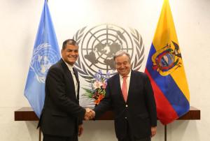 Discurso Presidente Rafael Correa en la Ceremonia de Traspaso de la Presidencia Pro tempore del G77+China, de Tailandia a Ecuador