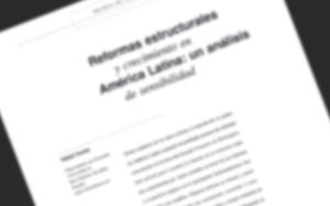 Artículo «Reformas Estructurales y crecimiento en América Latina: un análisis de sensibilidad» publicado en Revista CEPAL